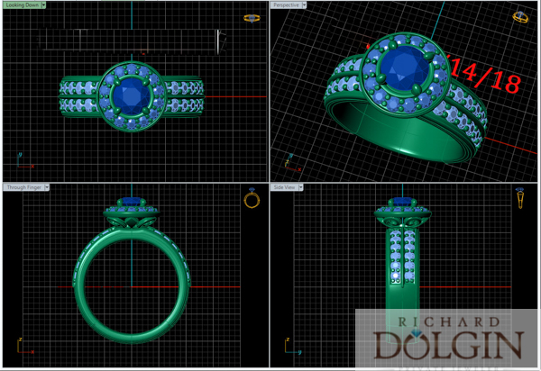 CAD/CAM schematic