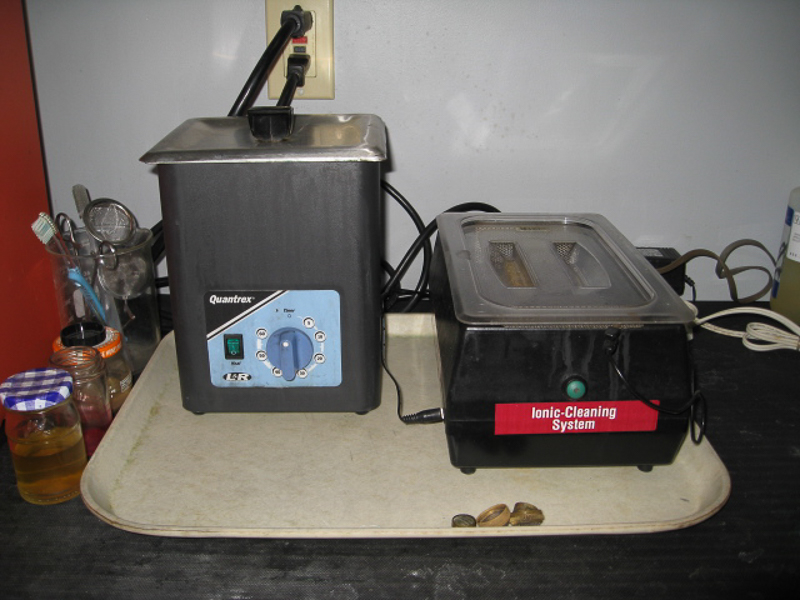 Ultrasonic and ionic cleaner