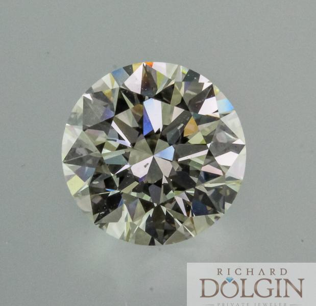 Round brilliant 4.0 carat diamond