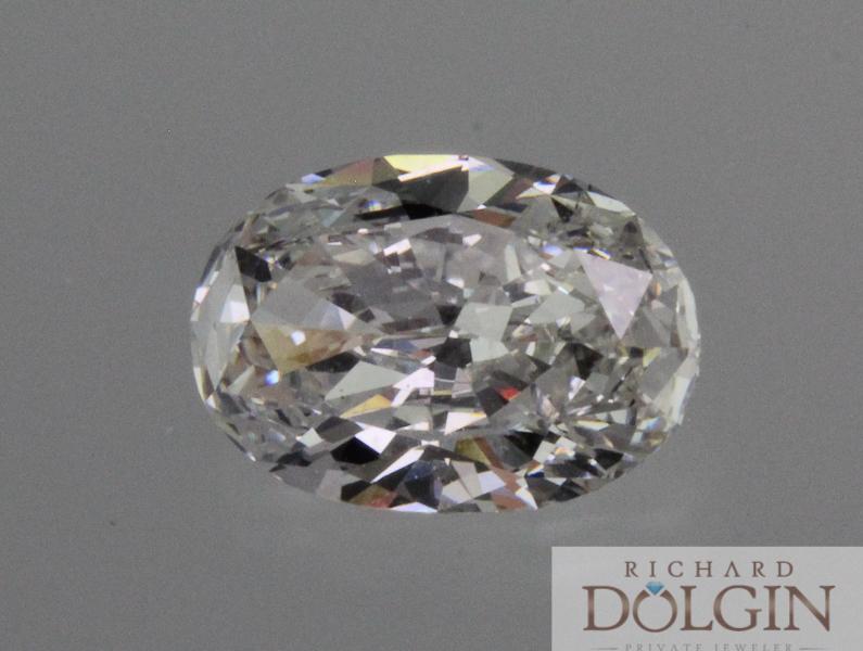 Oval 3.0 carat diamond