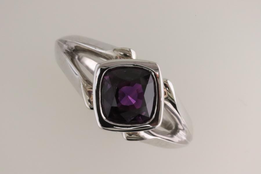 Purple Sapphire Custom Ring