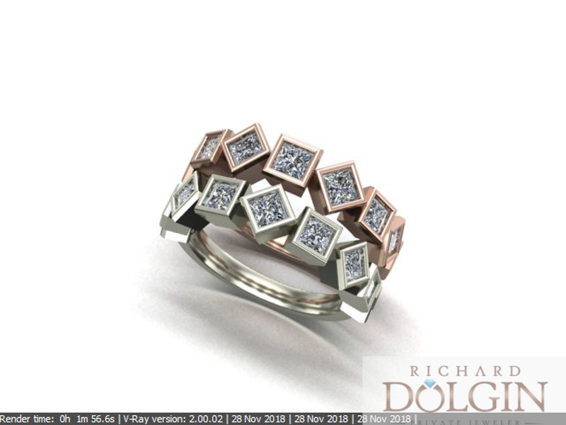 Computer generated ring design