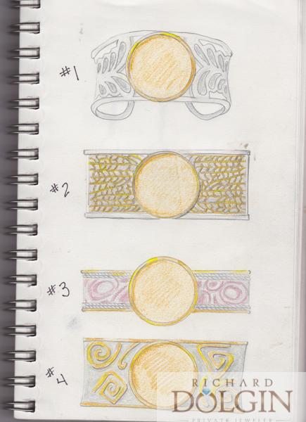 Bracelet sketches