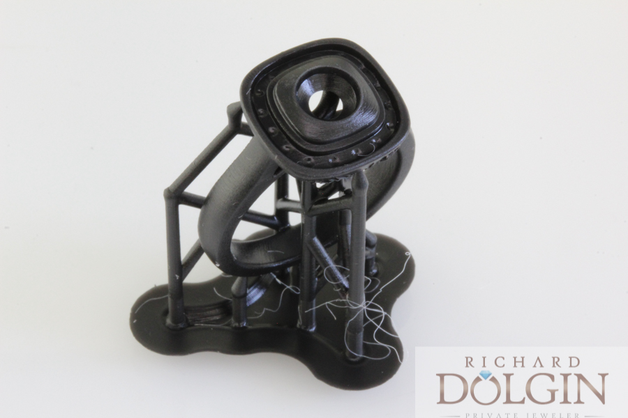 3D model straight from the printer