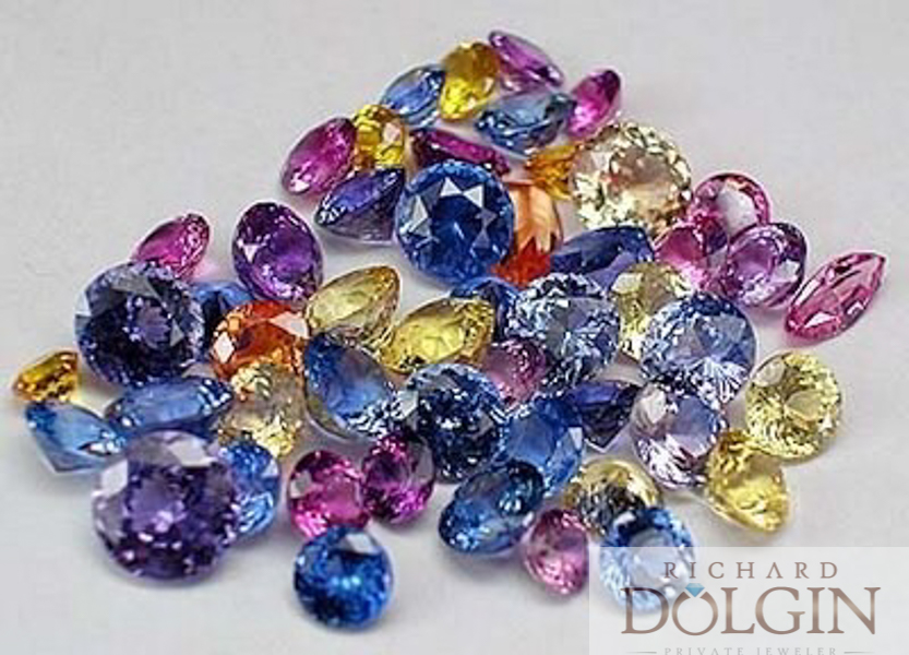 Sapphires in many colors