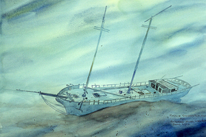 Milan Shipwreck 1849