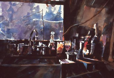 Kitchen Clutter - 2012 Aqueous Open Pittsburgh, PA 2013 Central NY Watercolor Society Juried Show Artistic Excellence Award