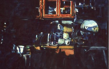 Kitchen Clutter - Adirondacks National Exhibition of American Watercolors Award