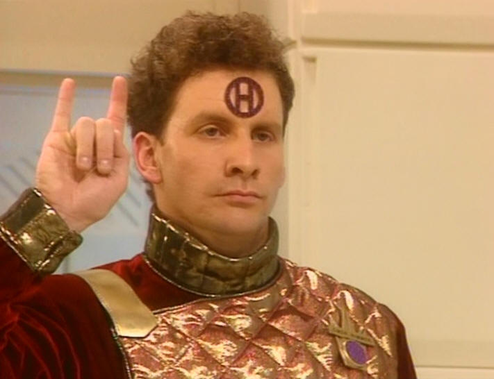 Arnold Rimmer, who really is a smeghead. Image credit: BBC