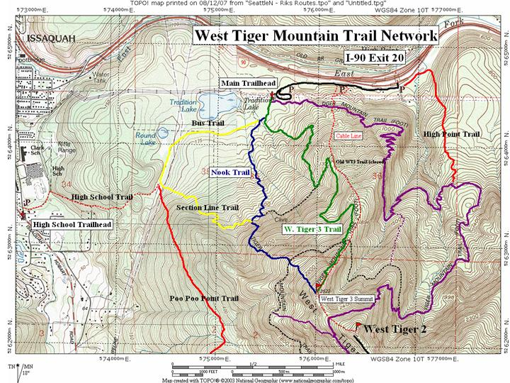 Tiger Mountain Trail System