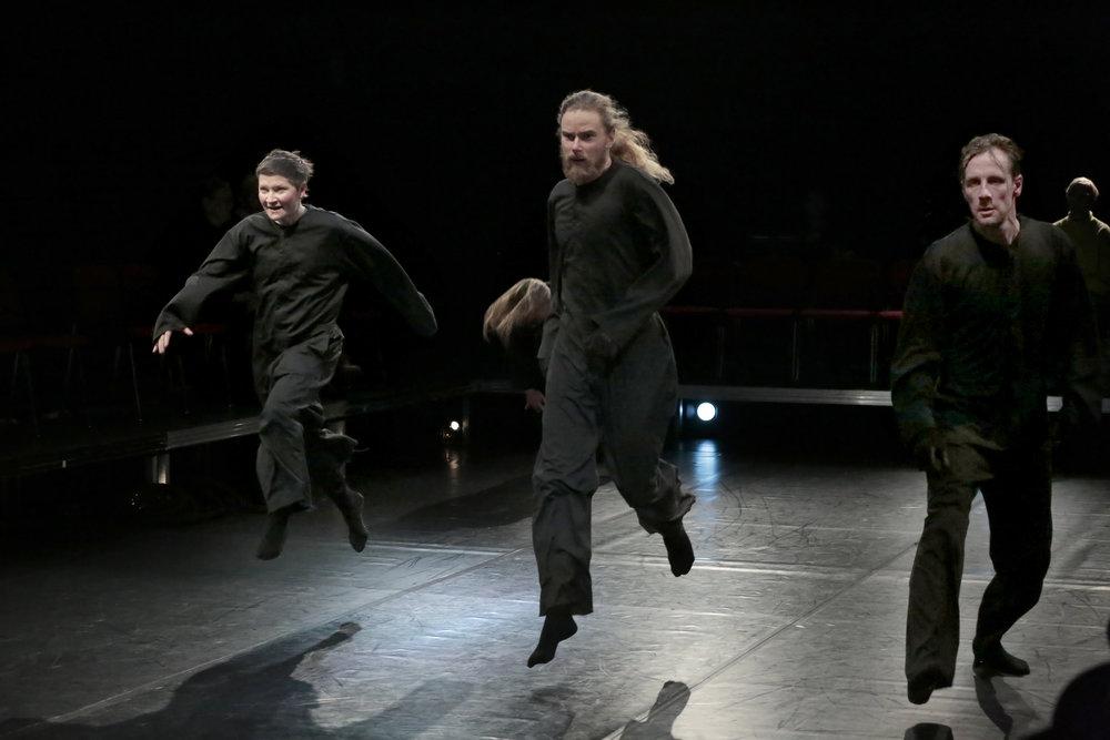 Photo: Ia Samoil (in photo: Katri Soini, Pekka Louhio & Jukka Peltola)