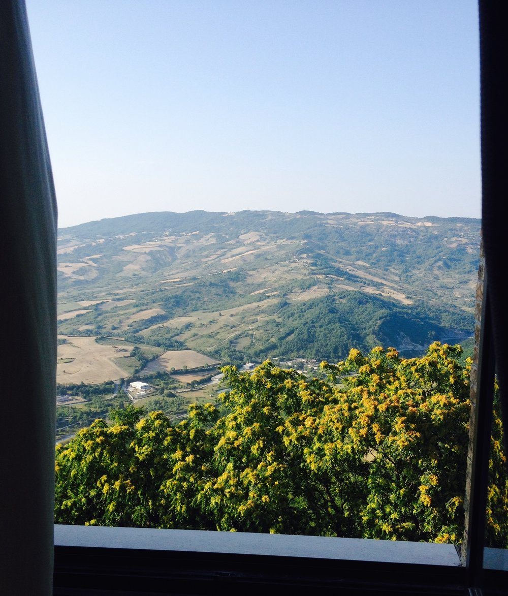 View from our Italian Retreat