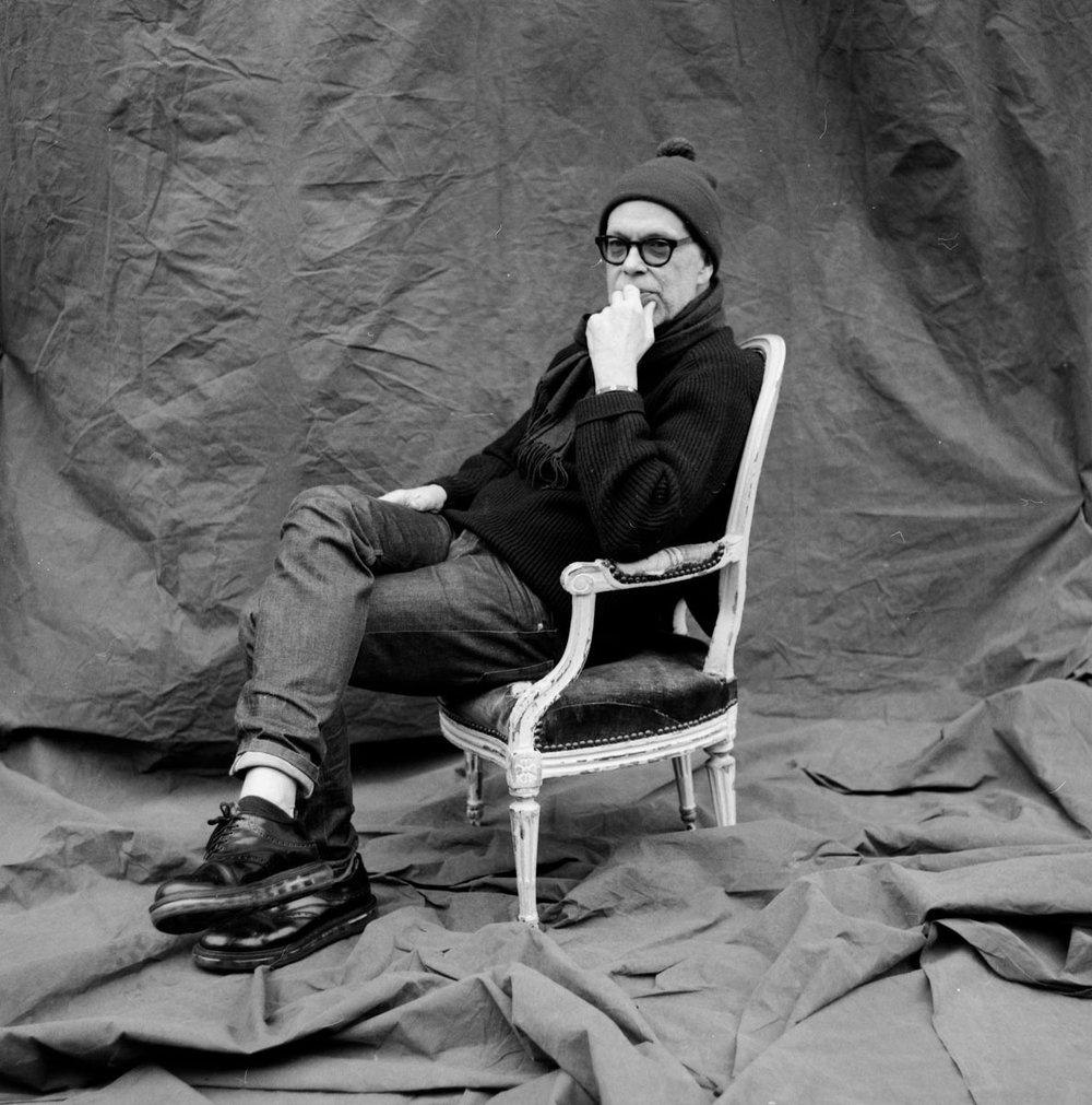 Richard Haines, fashion illustrator.