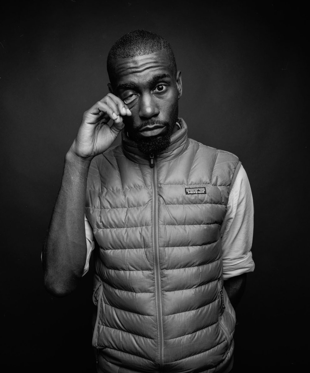 DeRay McKesson, activist.