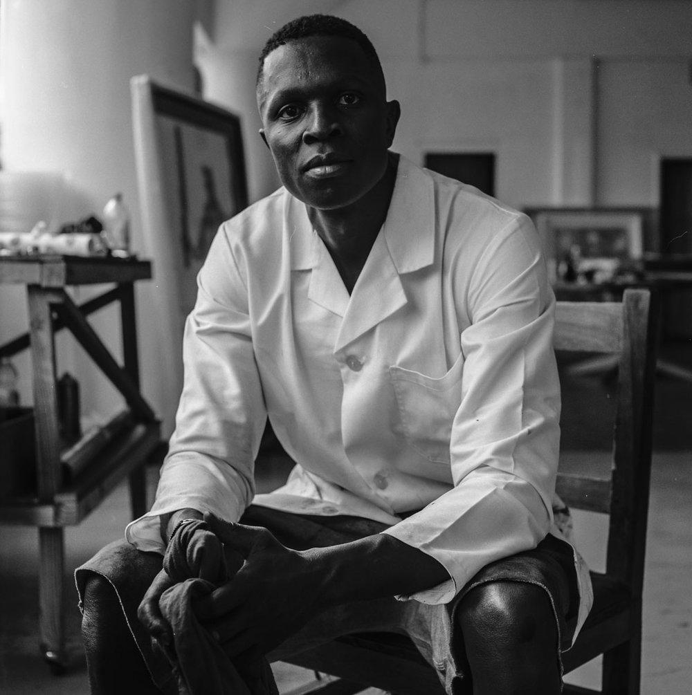 Nelson Makamo, artist.