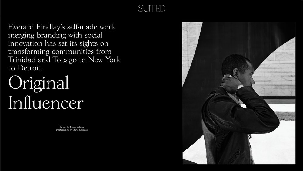 Everard Finley for Suited Magazine.