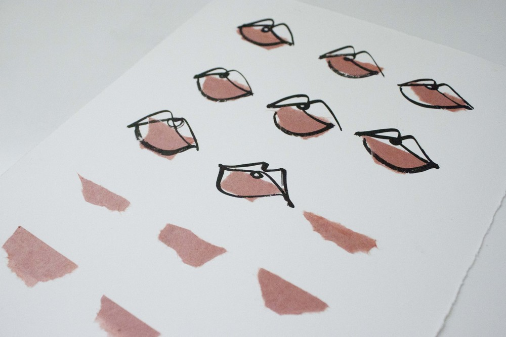 Pink Lips Illustrated by Victoria-Riza