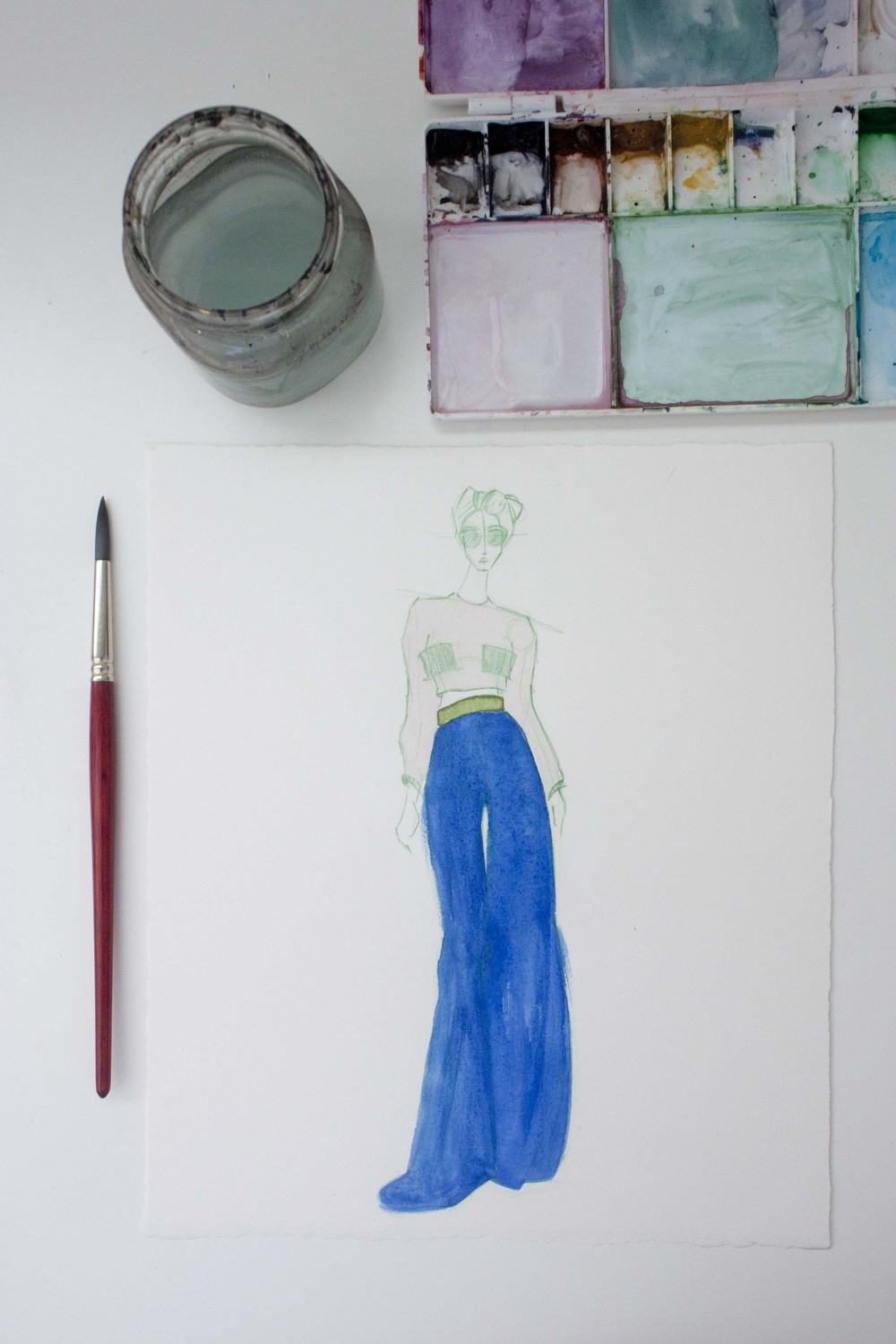 Fashion Illustration by Victoria-Riza