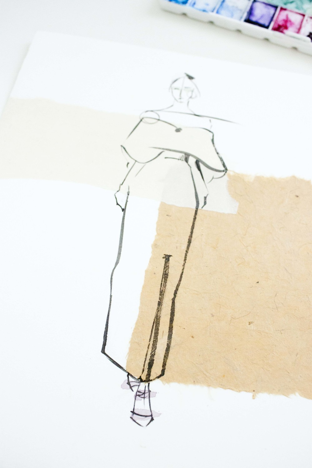 Delpozo Spring 2014 Illustrated by Victoria-Riza