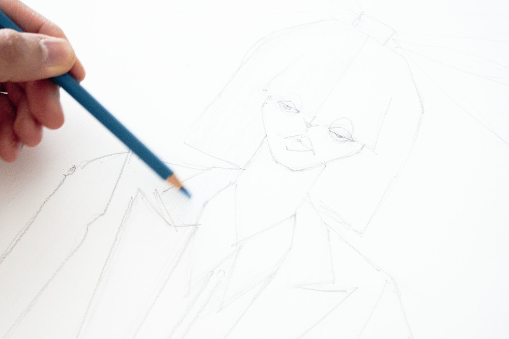 Victoria-Riza Fashion Illustration / Sia