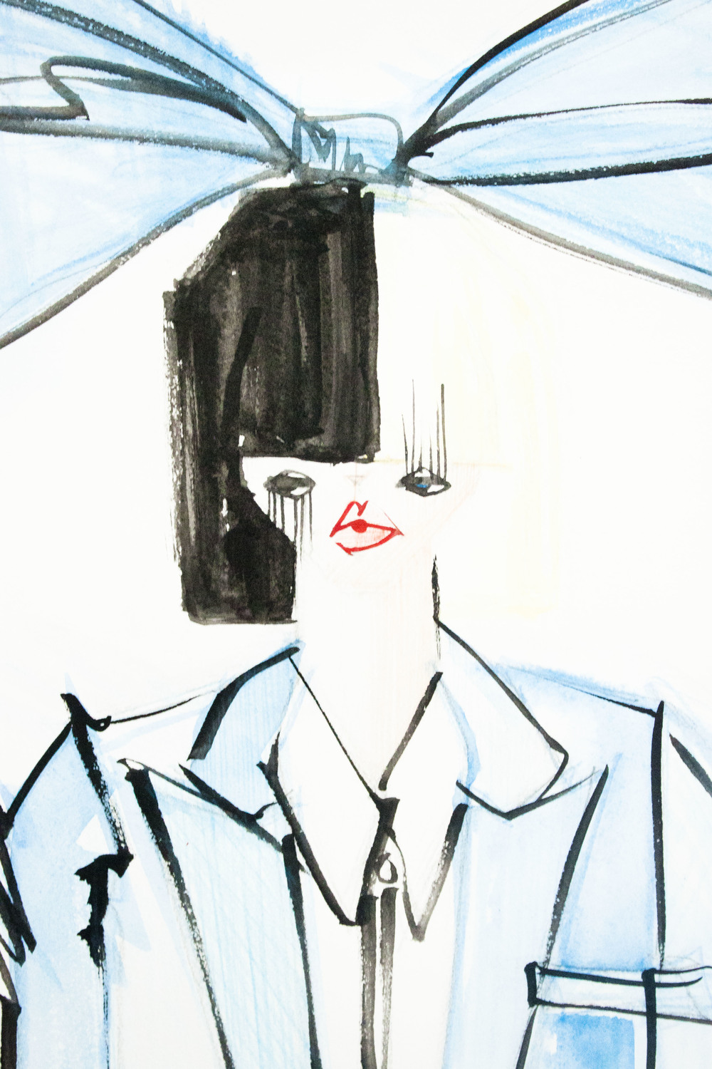 Victoria-Riza Fashion Illustrator | Sia | SNL