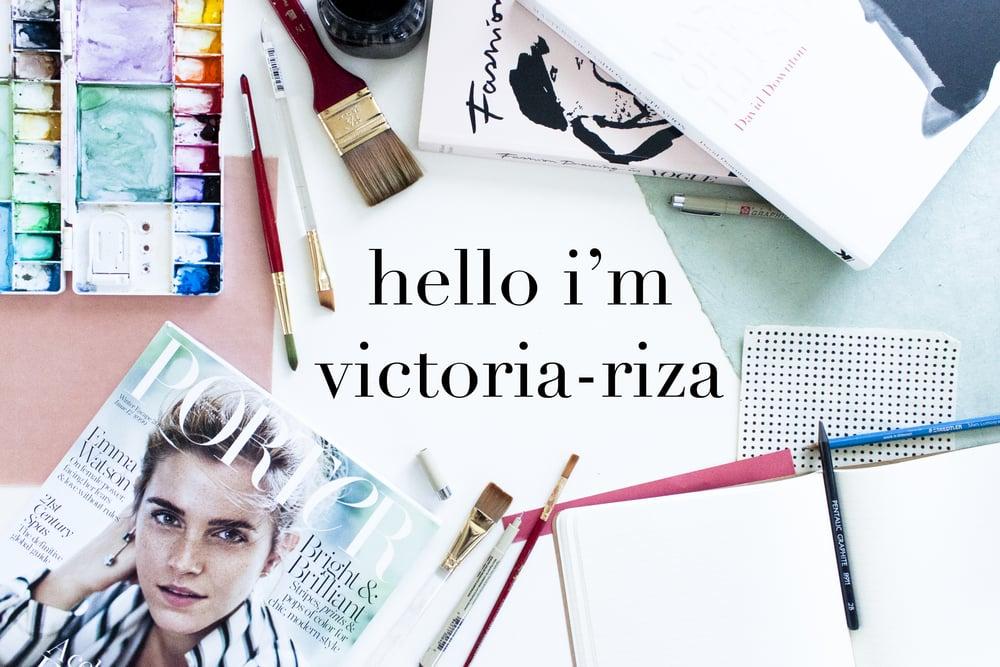 Victoria-Riza | Fashion Illustrator