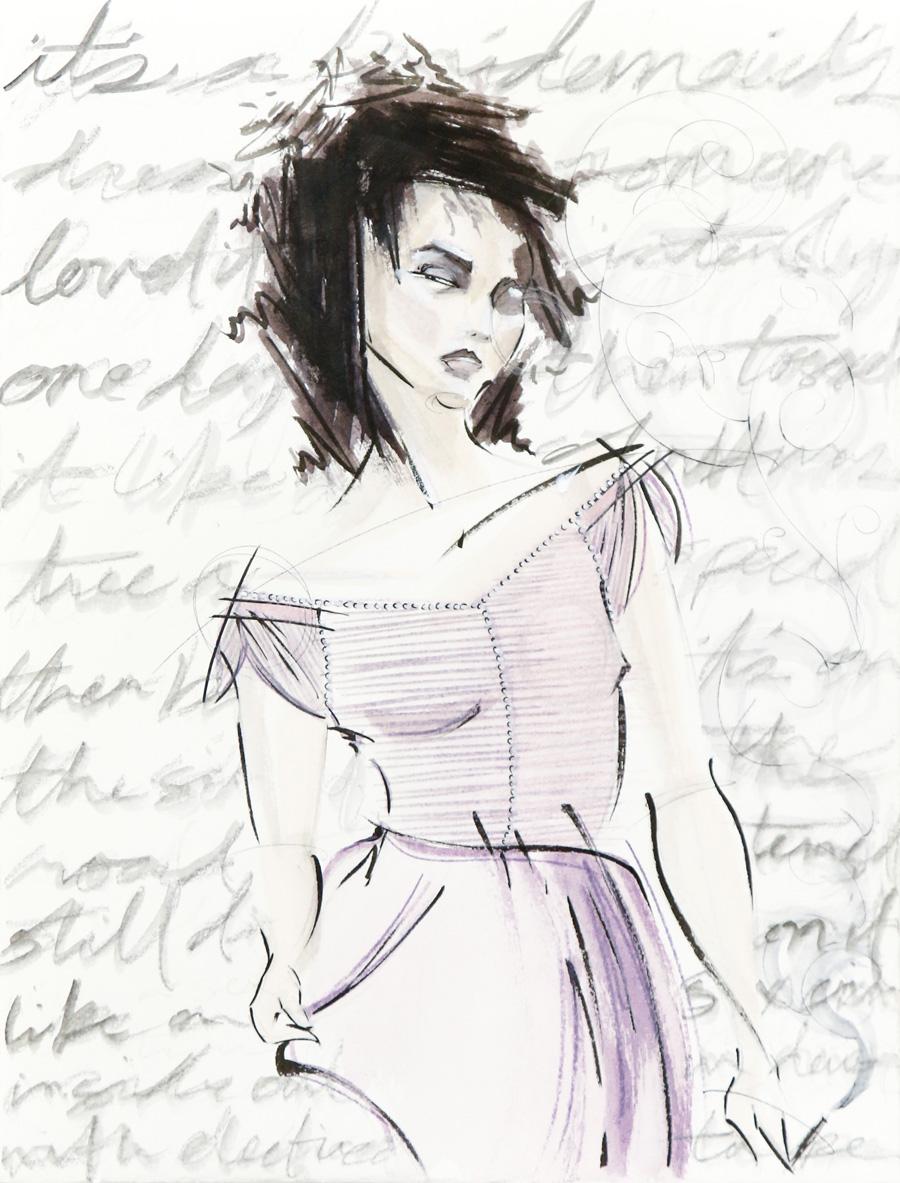 Victoria-Riza | Fashion Illustrator | Marla Singer, Fight Club
