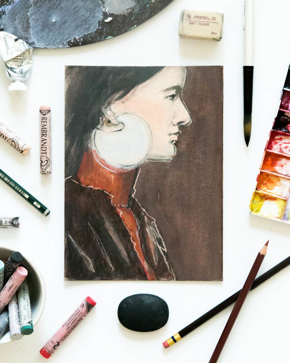 Victoria-Riza | Fashion Illustrator | Marni Spring 2016