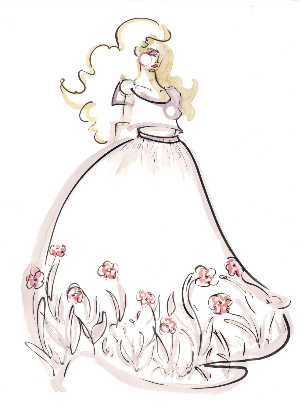 Victoria-Riza Fashion Illustrator | Designer Janay Marie | Utah Fashion Week