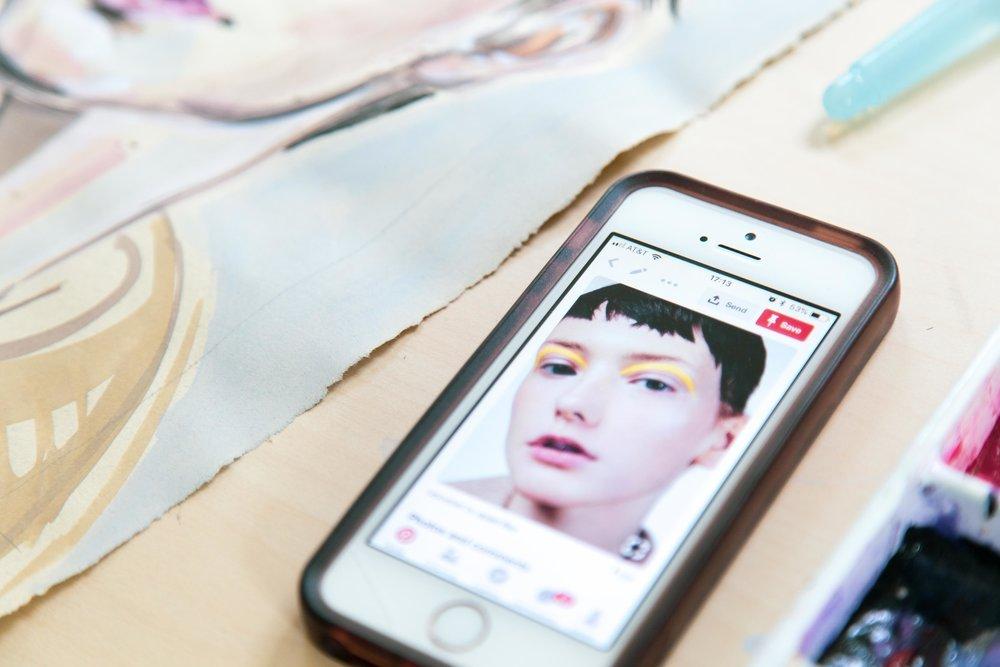 Victoria-Riza Fashion Artist | Make Up Portrait