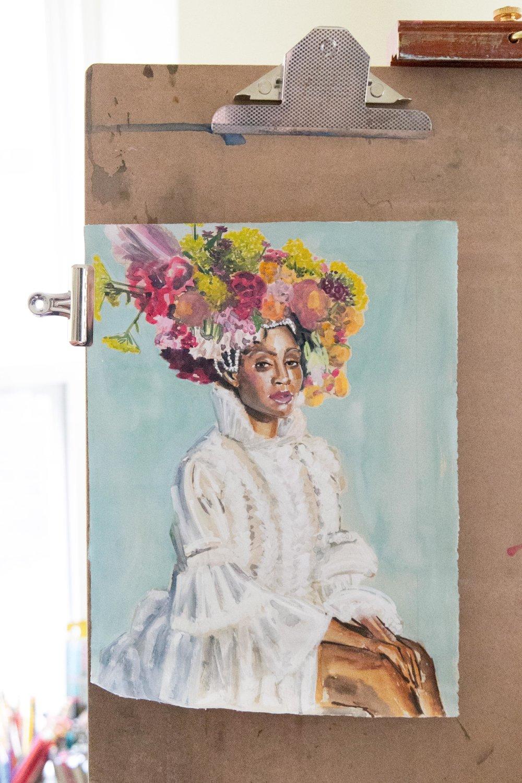 Victoria-Riza Fashion Artist | Beyoncé Vogue September 2018 Cover