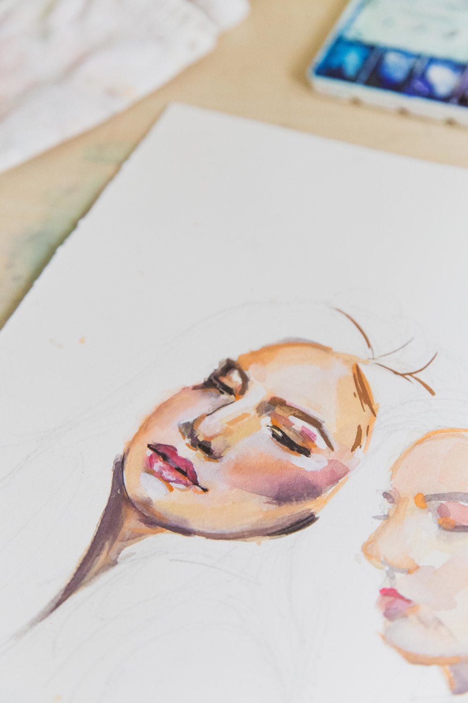 Victoria-Riza Fashion Artist and Illustrator | Fashion Illustration for Afa Ah Loo's Spring 2019 Collection