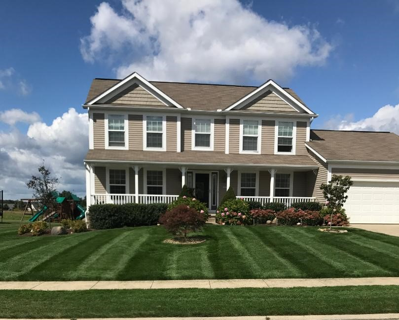 Top Turf Lawn Care mowing in Uniontown, Ohio