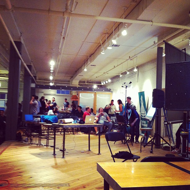 Last minute before Final Pitch! (Taken with  Instagram  at Makers)