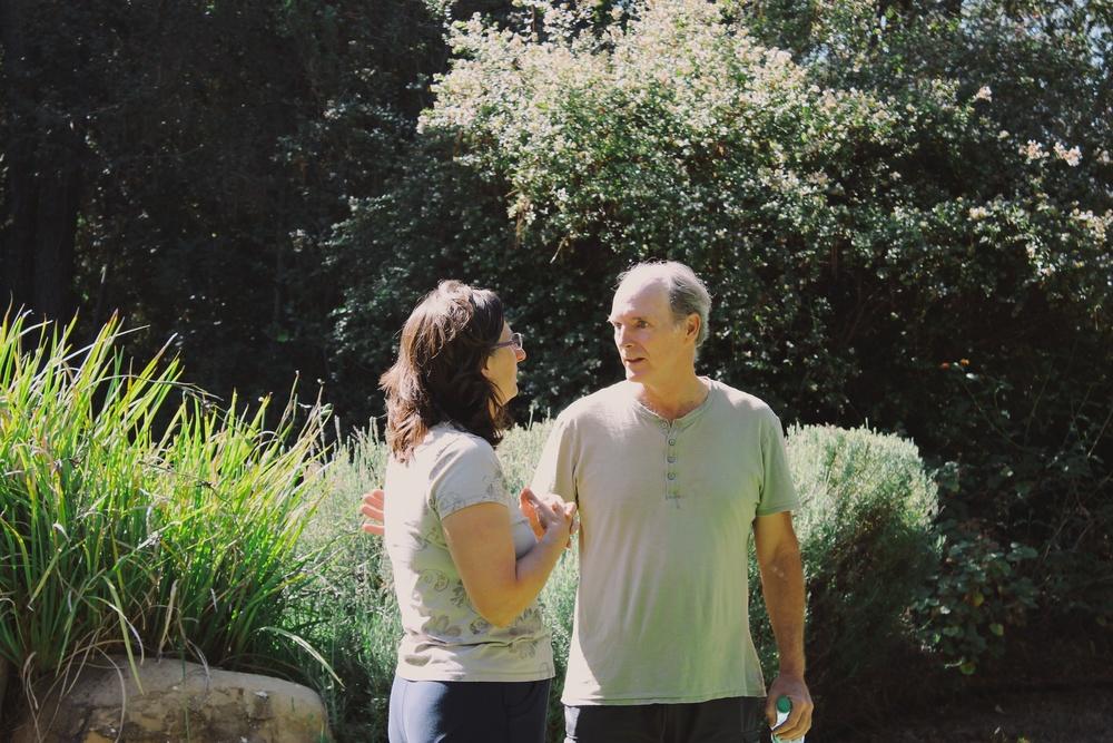 Vicki & Kevin yoga retreat 2013