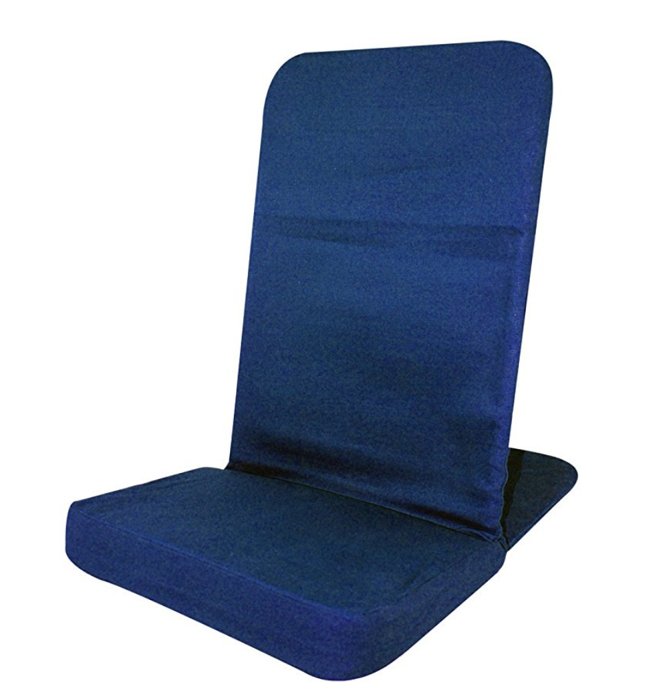 Back Jack for Meditating - Back Jack floor chair for meditating. Seat is made of foam and this size fits most people. It's unusually comfortable and comes in many different colors!