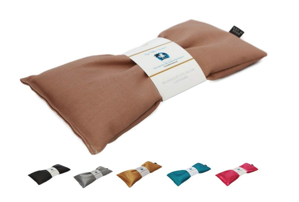 Organic Lavendar Eye Pillow - Organic Eye Pillow filled with Flax Seed and Lavender. Great for a relaxing shavasana.