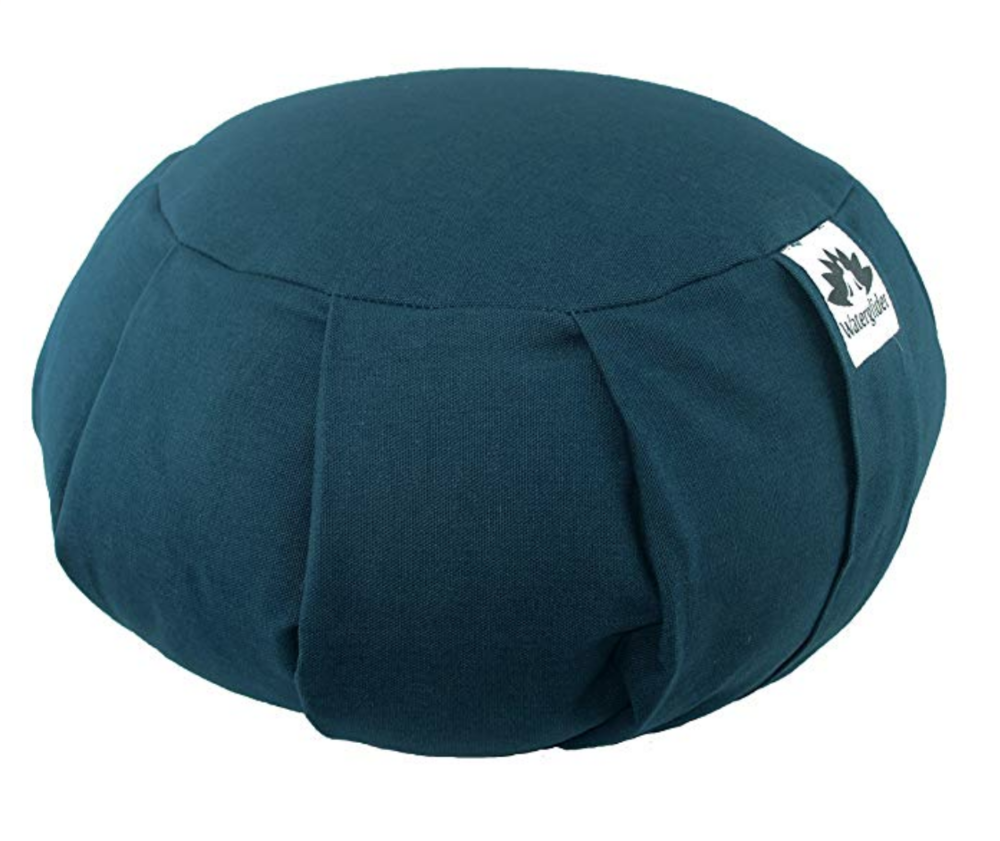 Meditation Cushion - Buckwheat filled Meditation Cushion with removable cover for easy washing. Comes in 6 different colors.