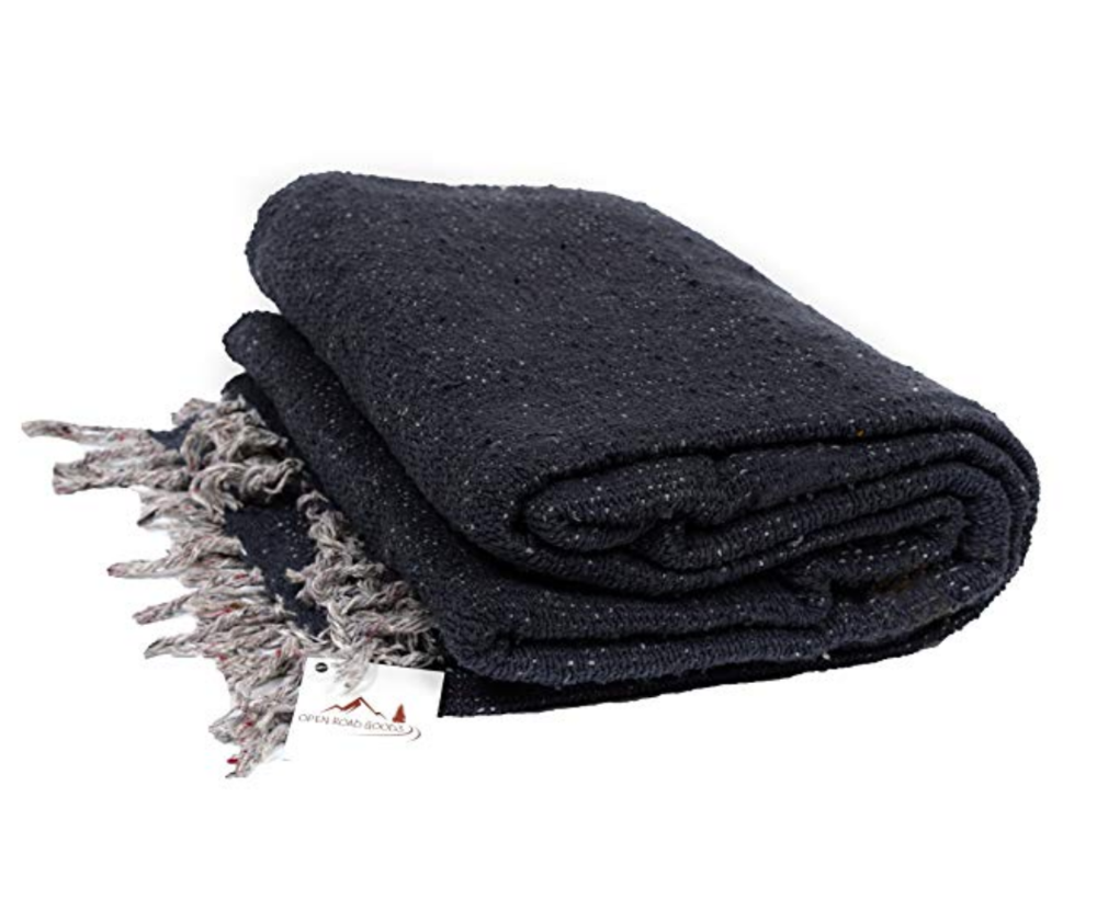 Yoga Blanket - Handmade Yoga Blanket. Helpful for propping as well as to cover yourself with during your final relaxation. I'd recommend getting two of these as they come in handy.