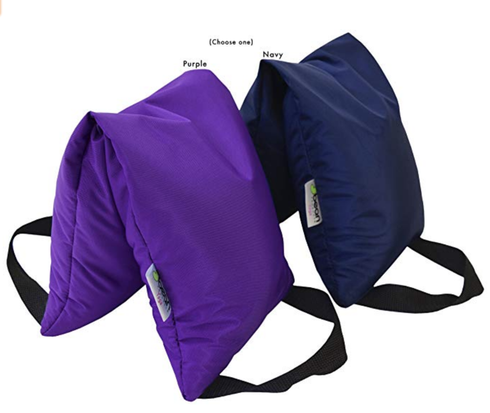 Sandbags - These 10 pound sandbags aid in deepening Yoga poses, offering stability and a sense of grounded-ness to your practice.