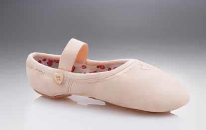 Capezio 'Love Ballet' shoes without drawstrings.