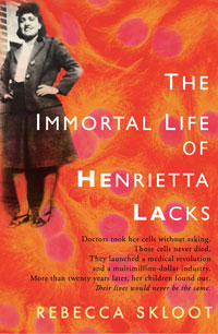 This is a book I must read.   Check out the prologue here:  'Henrietta Lacks': A Donor's Immortal Legacy : NPR    And a very favorable review in the NYTimes:  A Woman's Undying Gift to Science