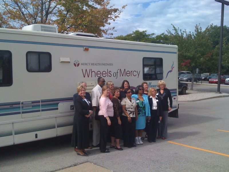 "Wheels of Mercy    Today at the hospital, we held a brief blessing/commissioning ceremony for our newly refurbished recreational vehicle, ""Wheels of Mercy.""    It will be used to seek out those who lack access to medical services and provide them with screenings & enrollment opportunities."