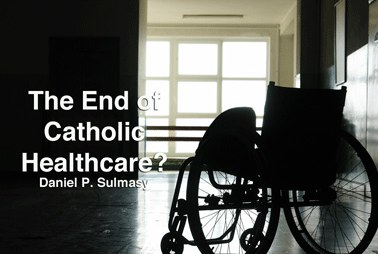 The End of Catholic Healthcare?    In the March 16 edition of   America Magazine  , Daniel Sulmasy, O.F.M. tells the sad story of Catholic Healthcare in the city of New York. Seven hospitals were closed from 2007 - 2008.   The Friar/Doctor not only recounts the events that led to the closings, but offers a number of lessons learned. And, thankfully, makes a case for the continuation of Catholic Healthcare.     In health care, patients and practitioners alike are becoming alienated from the health care delivery system. Hospitals that treat patients with true respect, recognize their dignity, attend to their spiritual needs, value people over technology and value service over the bottom line are precisely the remedy that people need.   Given their mission, Catholic institutions should be leading the way.     Read the  article  and be sure to check out the  podcast  as well.