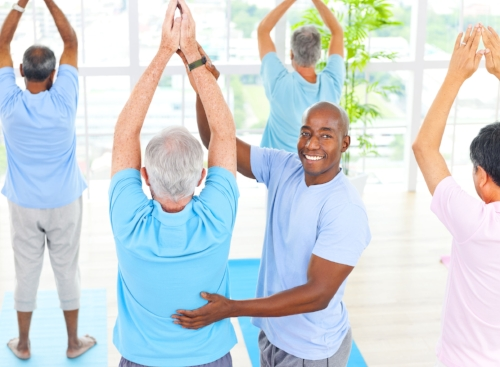 Group Physical Therapy using Tai Chi is our method to get results.