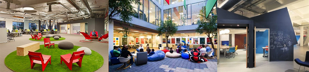 New trends in office design are envied by schools - Skype, Google and KBS+