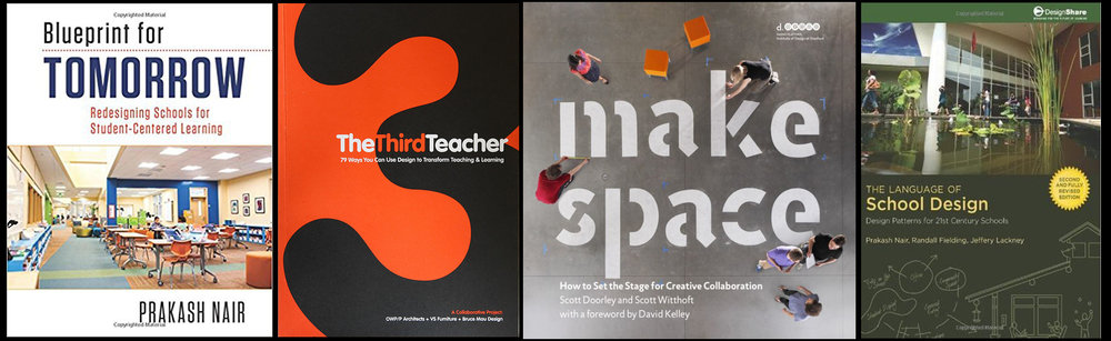 These books will inspire your learning space design.