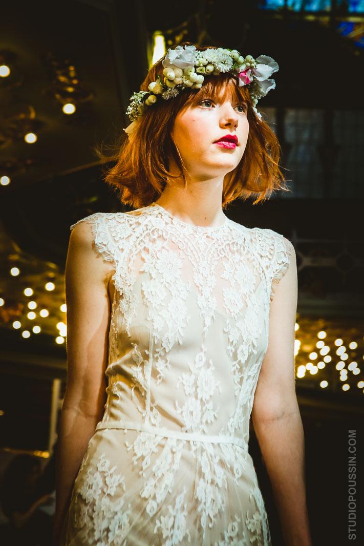 défilé printemps haussmann robes mariée