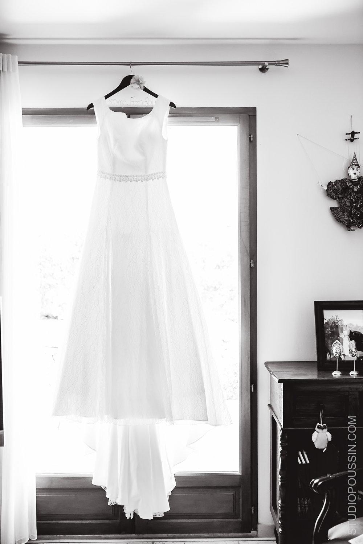 robe de mariée studio Poussin