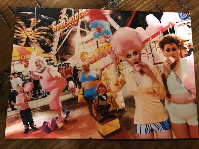 POSTCARD #2:  Fun Fair,Tragedy, 1997 by David Lachapelle